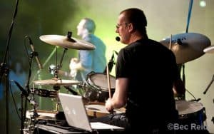 Phil Gaudion, drummer of PC3