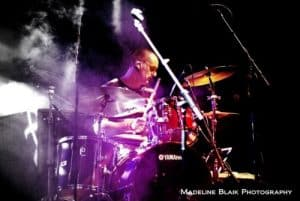PC3 drummer Phil Gaudion